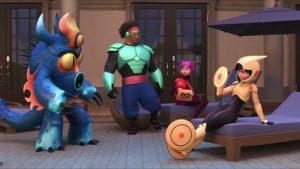 Hantu Baca Film Animasi Terbaik Piala Oscar Tontonan Keluarga Big Hero 6