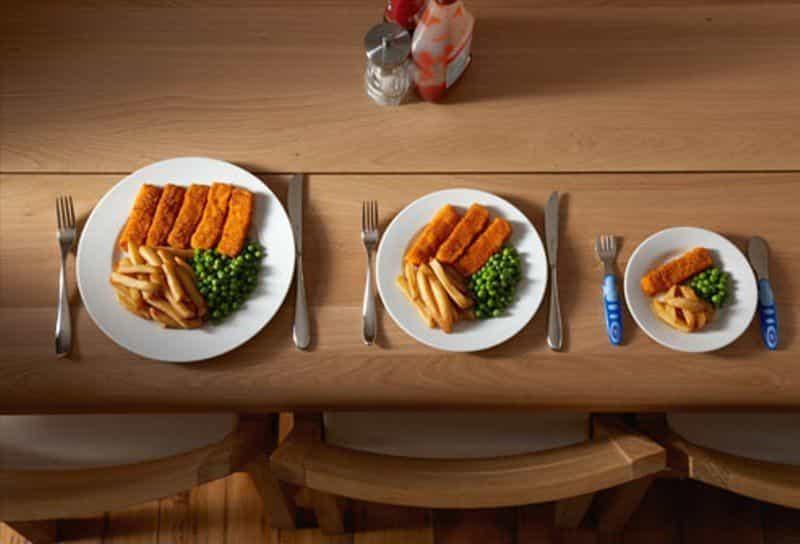 tambah porsi makan jadi lebih banyak sehat