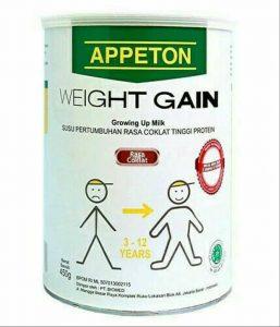 Appeton Weight Gain Child untu susu penambah berat badan anak