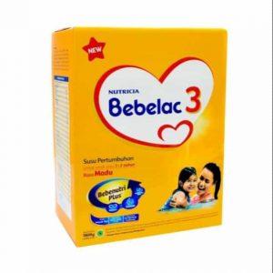 Bebelac 3 Bebenutri Plus susu penambah berat badan anak terbaik