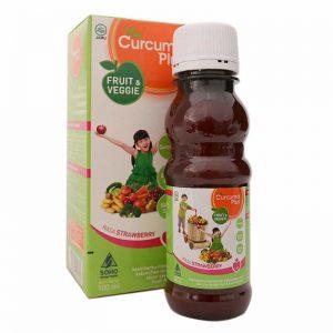 Curcuma Plus Fruit and Veggie vitamin penambah berat