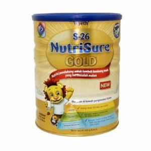 S26 NutriSure Gold susu formula terbaik untuk anak