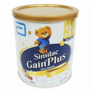 Similac Gain Plus adalah susu bubuk pendamping asi