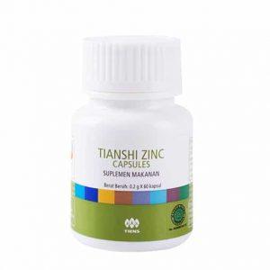 Tiens Zinc Capsule merk vitamin penambah berat badan