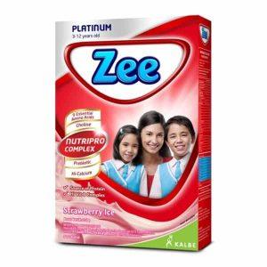 Zee Platinum minuman susu tulang