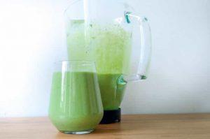 High Calorie Green Smoothie minuman khusus anak dewasa orang tua